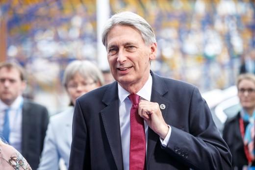 Chancellor Philip Hammond backed Johnson in leadership bid