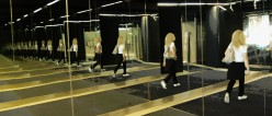 Mirrors Reflect Practice Belly Dance Movements