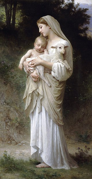 Bouguereau's L'innocence -1892