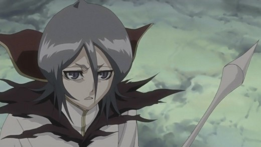 Rukia Kuchiki as depicted in Bleach: Fade To Black