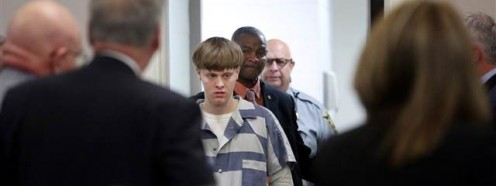 Dylan Roof arrested Sept. 18 for shooting nine at New Charleston Church.