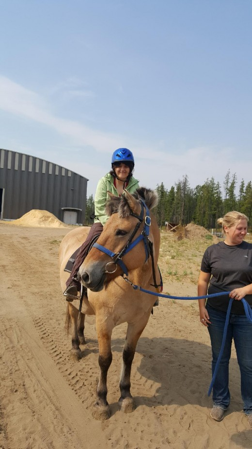 My daughter Is special needs and loves therapeutic riding.