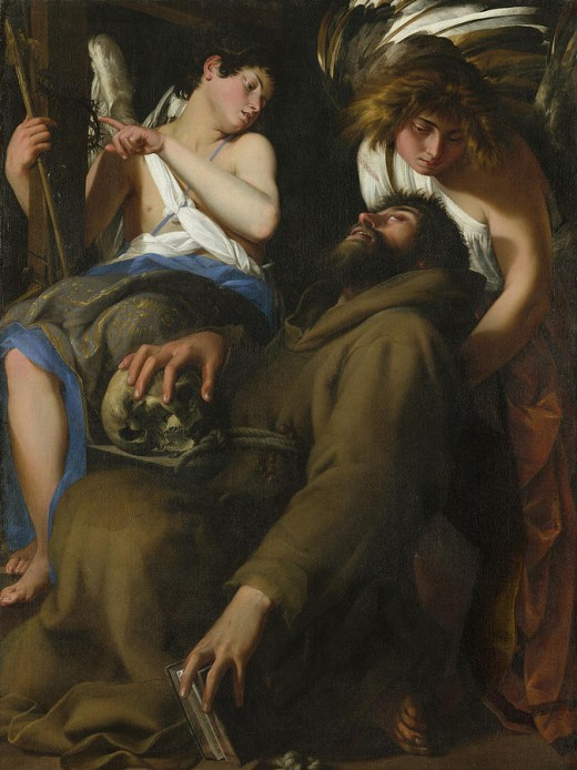 The Ecstasy Of Saint Francis by Giovanni Baglione.