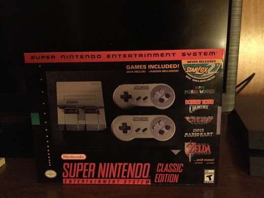 Newly purchased SNES Classic