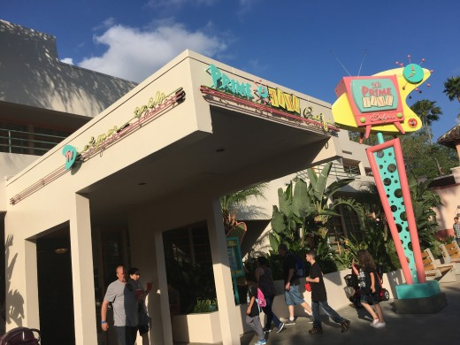 50's Prime Time Café Entrance