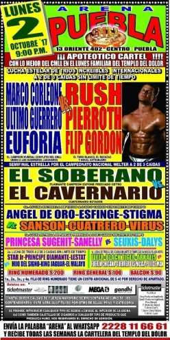 CMLL Puebla: Back in the Lucha Groove