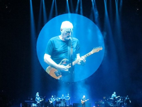David Gilmour at the United Center, Chicago 4/8/2016