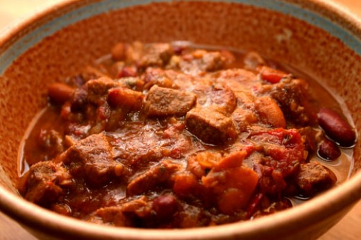 quick and easy meat chili
