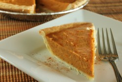 Healthy Holiday Protein Sweet Potato Pie