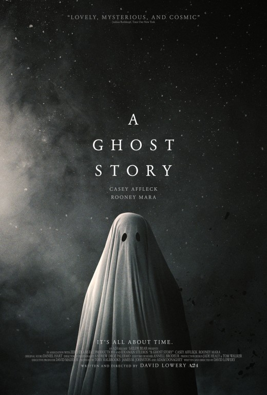 Poster for A24's A Ghost Story