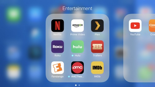 You can download the Netflix app from the App Store on your Apple smart device.