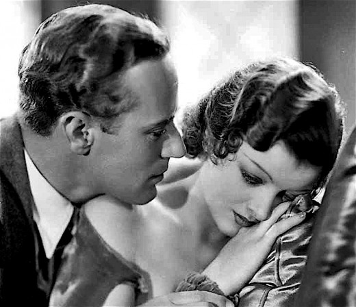 Leslie Howard and Myrna Loy had a steamy Hollywood affair in the early 1930s.