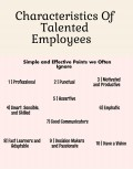 Top 10 Characteristics of Talented Employees