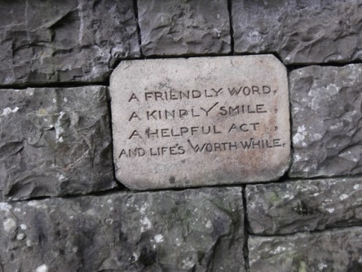 Poetry in Stone...