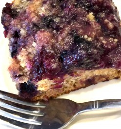 Vegan Blueberry Buckle Recipe: Gluten-Free and Low Sodium Options