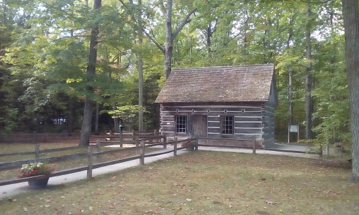 Log Cabin, Mission Point Peninsula, Traverse City, MI