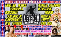 The Mega 2017 CMLL Leyenda de Plata Preview No One Asked For!