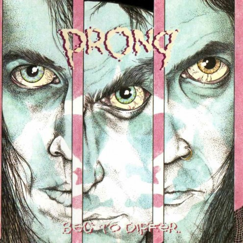 The album cover for Beg to Differ shows a man that has been put into prison. Prong as a band has made it a habit to bring awareness to the various social problems that we are faced with.