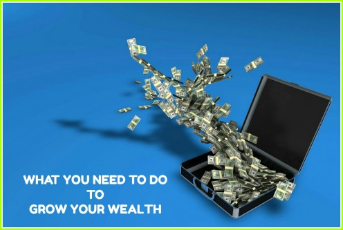 What You Need to Do If You Want to Grow Your Wealth