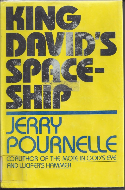 """The Cover of """"King David's Spaceship"""""""