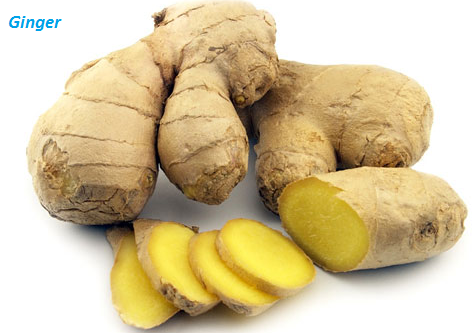 When treating food poisoning naturally, ginger works effectively in doing so.