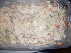 Recipe for How to Make Ultimate Potato Salad : Great Potato Salad Recipe for a Barbeque, Picnic or Even Thanksgiving