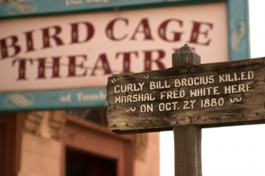 Bird Cage Theater in Tombstone, AZ.