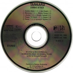 "Review of the Album ""Zombie Attack"" by German Thrash Metal Band Tankard 1986"