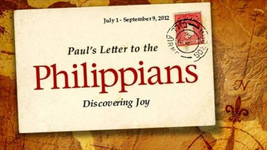 This photo shows good example of Paul's Letter to the Philippians