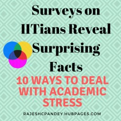 Surveys on IITians Reveal Surprising Facts-10 Ways to Deal With Academic Stress