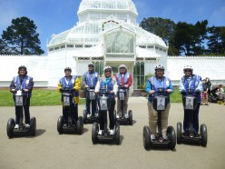 Segways in San Francisco: The Four Sisters at It Again