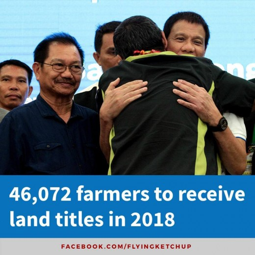 The Philippines is supposed to be an agricultural country. But the farmers have been utterly neglected by previous dispensations. This time,Duterte is making extra effort to do more for them. At least, agricultural growth rate is now positive.