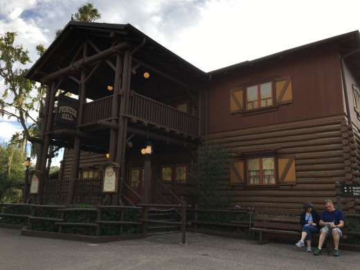 Hoop Dee Too takes places at Pioneer Hall, which is located at the Fort Wilderness Campground at Walt Disney World Resort.