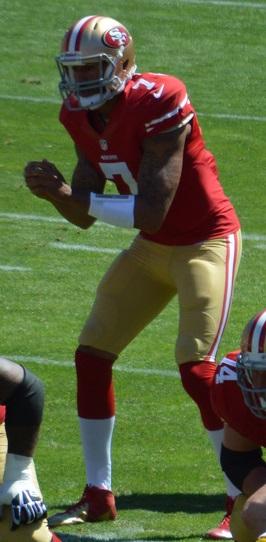 Colin Kaepernick in 2013 season debut vs. Green Bay Packers.