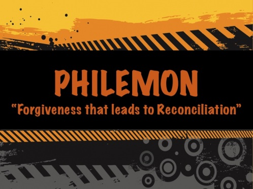 This photo is about book of Philemon about forgiveness design
