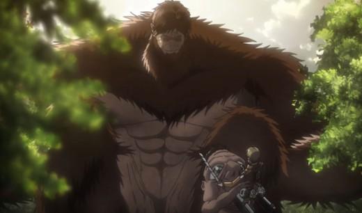 "A mew enemy, the ""Beast Titan"""
