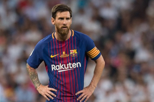 Messi has been the best so far this season (2017-18).