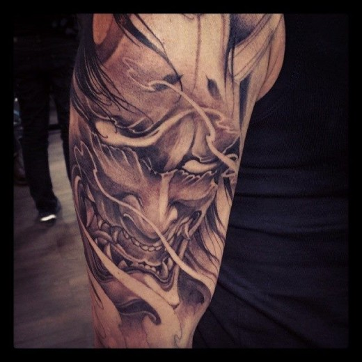 Japanese Tattoos Designs Ideas And Meaning: Japanese Hannya Tattoos: Origins, Meanings & Ideas