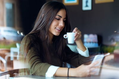 Coffee soothes and calms us and helps fight depression