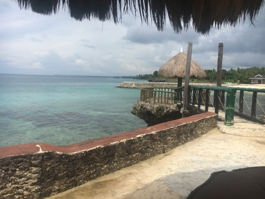 A Gorgeous View of the Camotes Waters in Mangodlong Rock Beach Resort