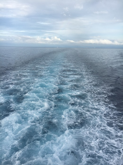 On The Way to Camotes Island Riding an Economy RORO
