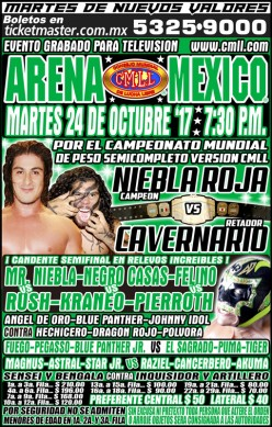 CMLL Tuesday: Caveman Fought the Red Frog and the Red Frog Won