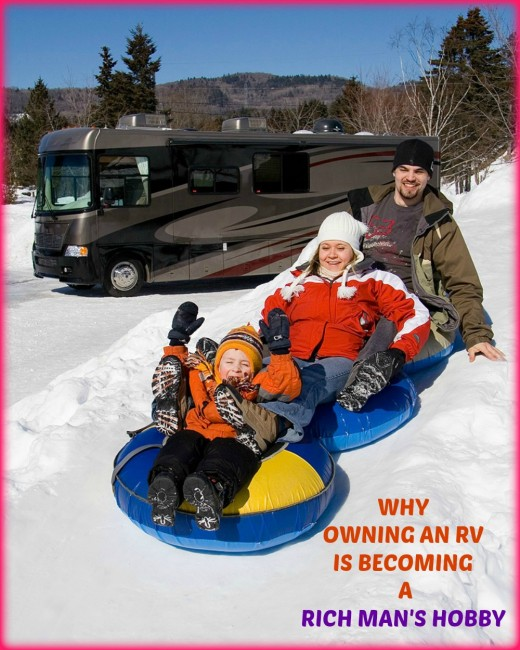Only the wealthier among us will be able to afford to costs involved in traveling in a recreational vehicle in the future.