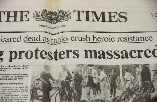 The news was full of horrifying accounts of the Chinese government crushing the protest in Tianamen Square.