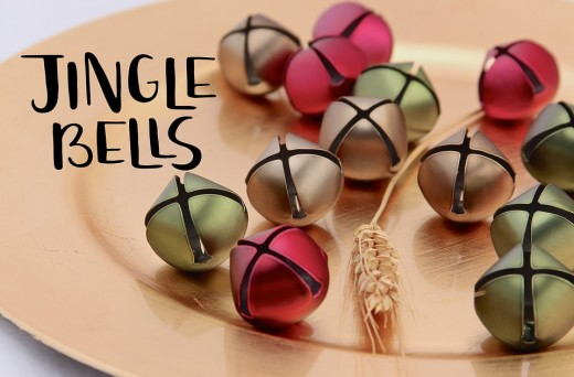 Jingle bells like these are perfect for your Christmas Jingle Bell Shake Game!