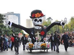 In modern times, Day of the Dead may involve parades and street parties.