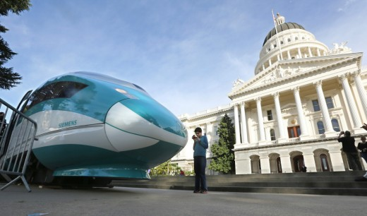 In CA we are spending $100 billion on a high speed train that has no track. Why can't we spend this kind of money to find a cure for diseases.