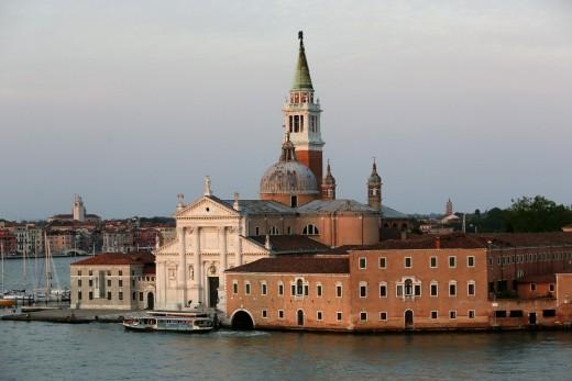 Venice an hour before sunset