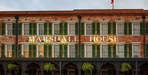 Marshall House, One of Many Haunted Locations in America's Most Haunted City, Savannah, Georgia