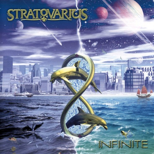 The album's cover shows two gold dolphin statues trying to jump through a golden loop. The album can be thought of as expressing the infinite possibilities to improve our lives.